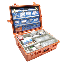 Pelican 1600 Watertight Hard Case with EMS Organizer/Dividers