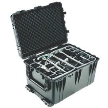Pelican 1660 Watertight Hard Case with Padded Dividers,