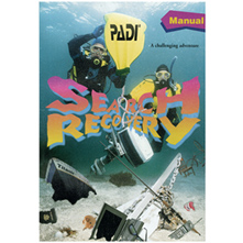 PADI Search & Recovery Diver Manual (79307)