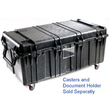 Pelican 0550 no foam Transport Case, Black
