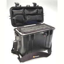 Pelican 1430 Case With Padded Dividers & Lid Organizer