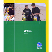 PADI #70153 Enriched Air Diver Specialty Manual with tables (Imperial)