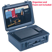 Pelican 1520 No Foaam Watertight Hard Case